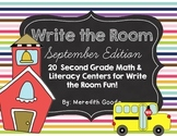 20 Math and Literacy Centers for Back to School