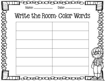 Write the Room- September
