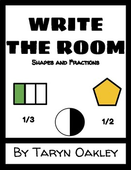 Write the Room | Shapes and Fractions