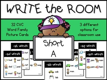Write the Room:  Short A