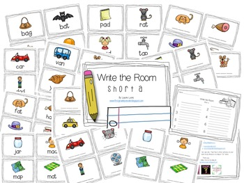 Write the Room Short A