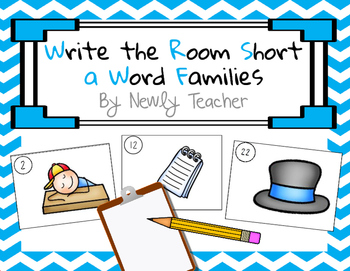 Write the Room Short A Word Families