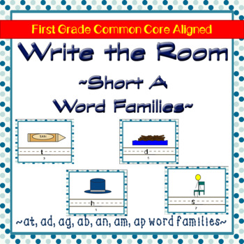 Write the Room Short A Word Families Edition
