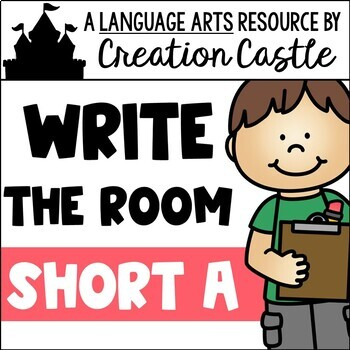 Write the Room - Short A Words