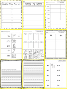 Write the Room - Short AND Long Vowel Bundle