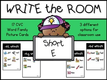 Write the Room:  Short E