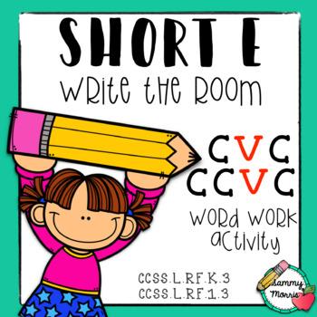 Write the Room: Short E, CVC