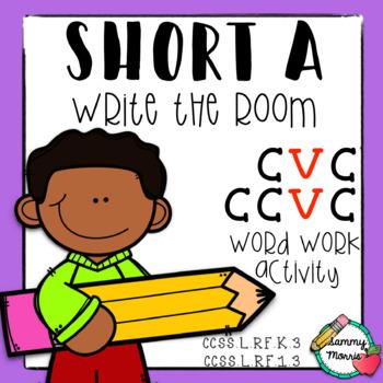 Write the Room: Short A, CVC