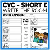Write the Room - Short E Words