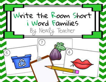 Write the Room Short I Word Families