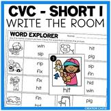 Write the Room - Short I Words