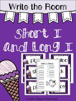 Write the Room {Short/Long I}