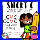 Write the Room: Short O, CVC