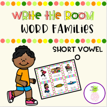 Write the Room - Short O Word Families