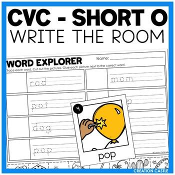 Write the Room - Short O Words