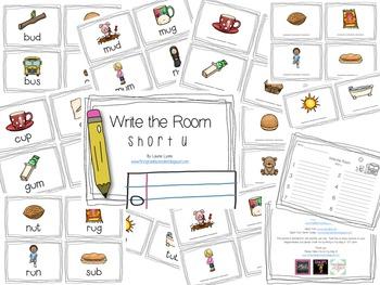 Write the Room Short U