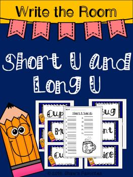 Write the Room...Short U/Long U
