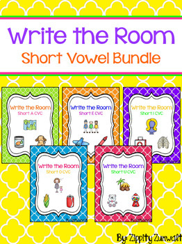 Write the Room - Short Vowel Bundle