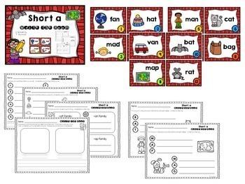 Short Vowel Bundle - Write the Room