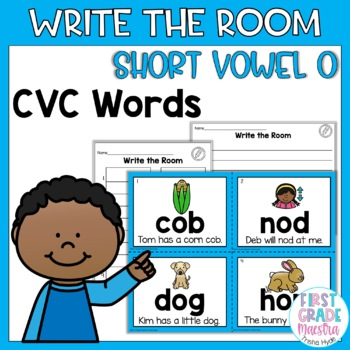 Write the Room Short Vowel O