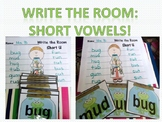 Write the Room Phonics Edition: Short Vowels!
