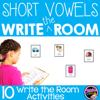 Write the Room Short Vowels