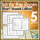 Write the Room: Short Vowels