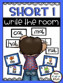 Write the Room-Short Vowels Bundle