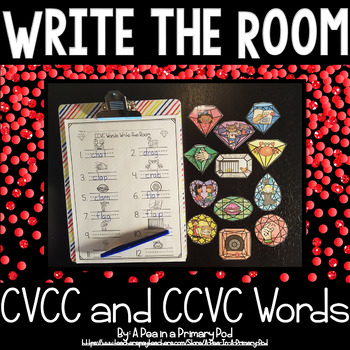 Write the Room (Short Vowels with Blends and Digraphs)