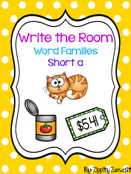 Write the Room - Short a Word Family