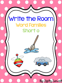 Write the Room - Short o Word Family