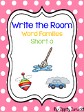 Write the Room - Short o Word Family