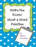 Write the Room!  Short a Word Families