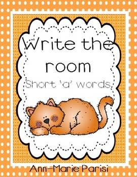 Write the Room, Short 'a' Words