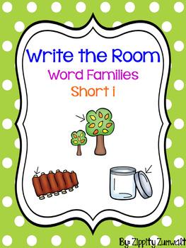 Write the Room - Short i Word Family