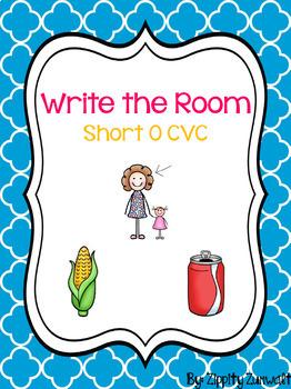 Write the Room - Short o CVC