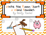 Write the Room Short o Word Families