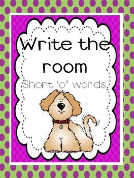 Write the Room, Short 'o' Words