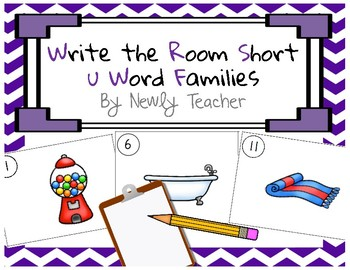 Write the Room Short u Word Families