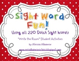 Write the Room Sight Word Fun! {All Dolch Words Included}