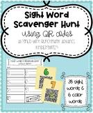 Write the Room Sight Word Scavenger Hunt Benchmark Advance