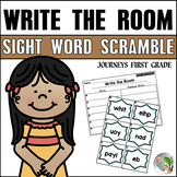 Write the Room Sight Word Scramble (Journeys First Grade Supplemental Resource)