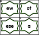 Write the Room Sight Word Scramble Kindergarten Units 1-6