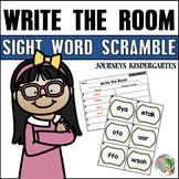Write the Room Sight Word Scramble (Journeys Kindergarten Supplement)