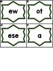 Write the Room Sight Word Scramble Kindergarten Units 1-6