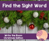 Write the Room (Sight Words)-Christmas Edition