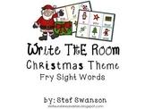 Write the Room Sight Words {Christmas Theme}