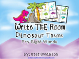 Write the Room Sight Words {Dinosaurs Theme}