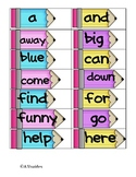 Write the Room - Sight Words Dolch Pre Primer
