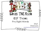 Write the Room Sight Words {Elf Theme}